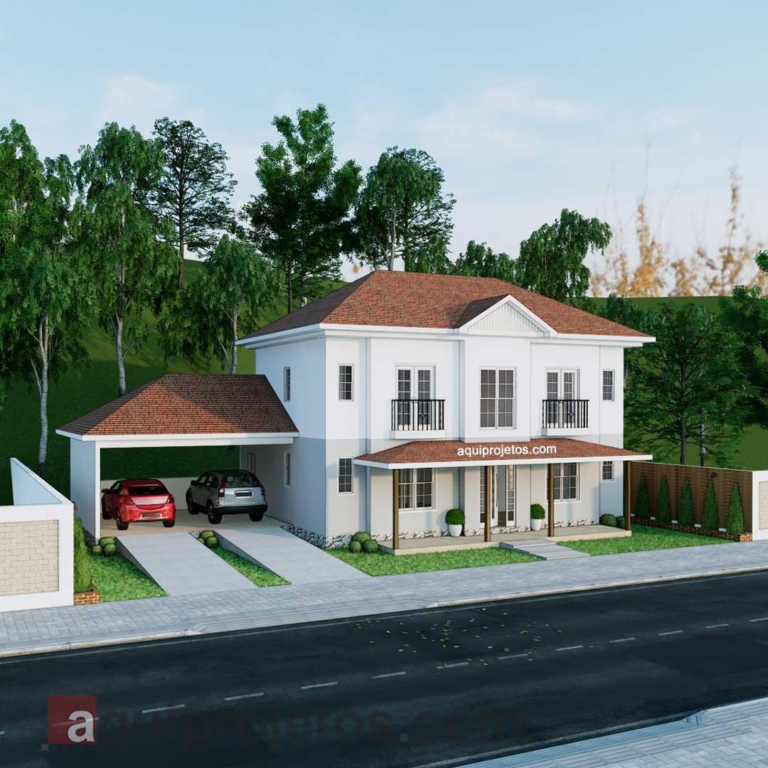 Fachadas de casas - Plantas de casas