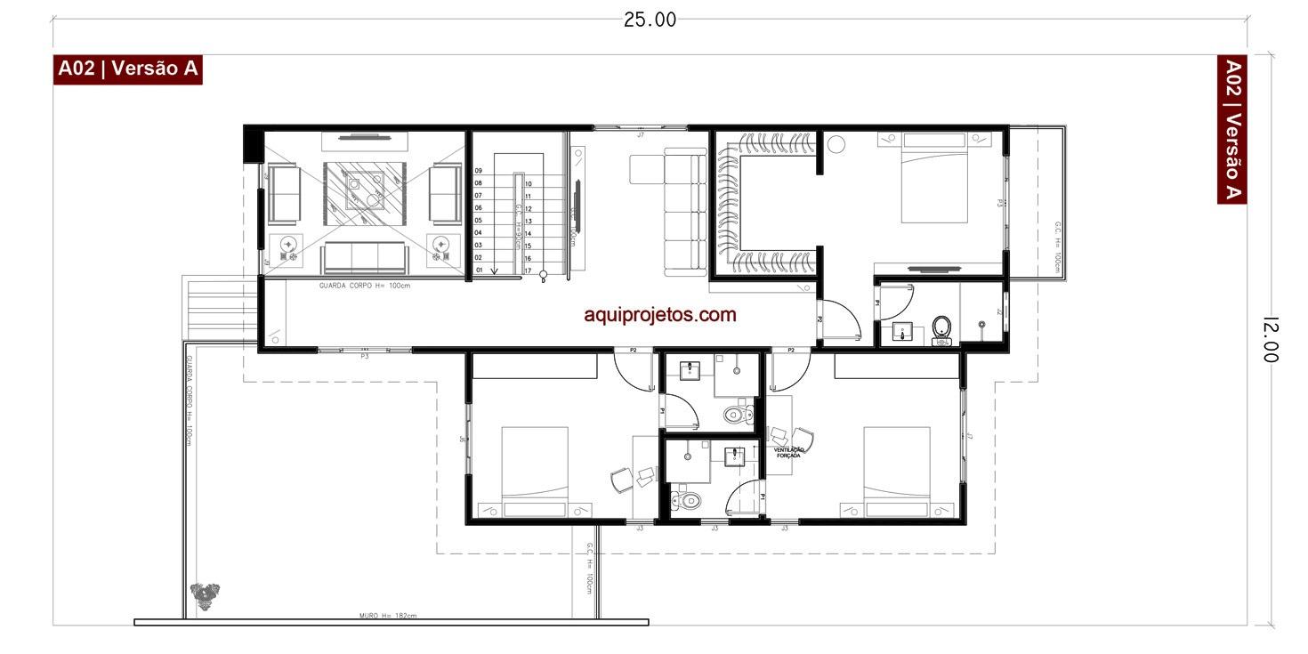 projetos de casas 15