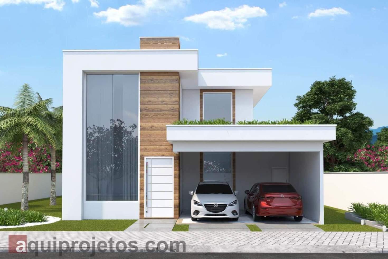 projetos de casas