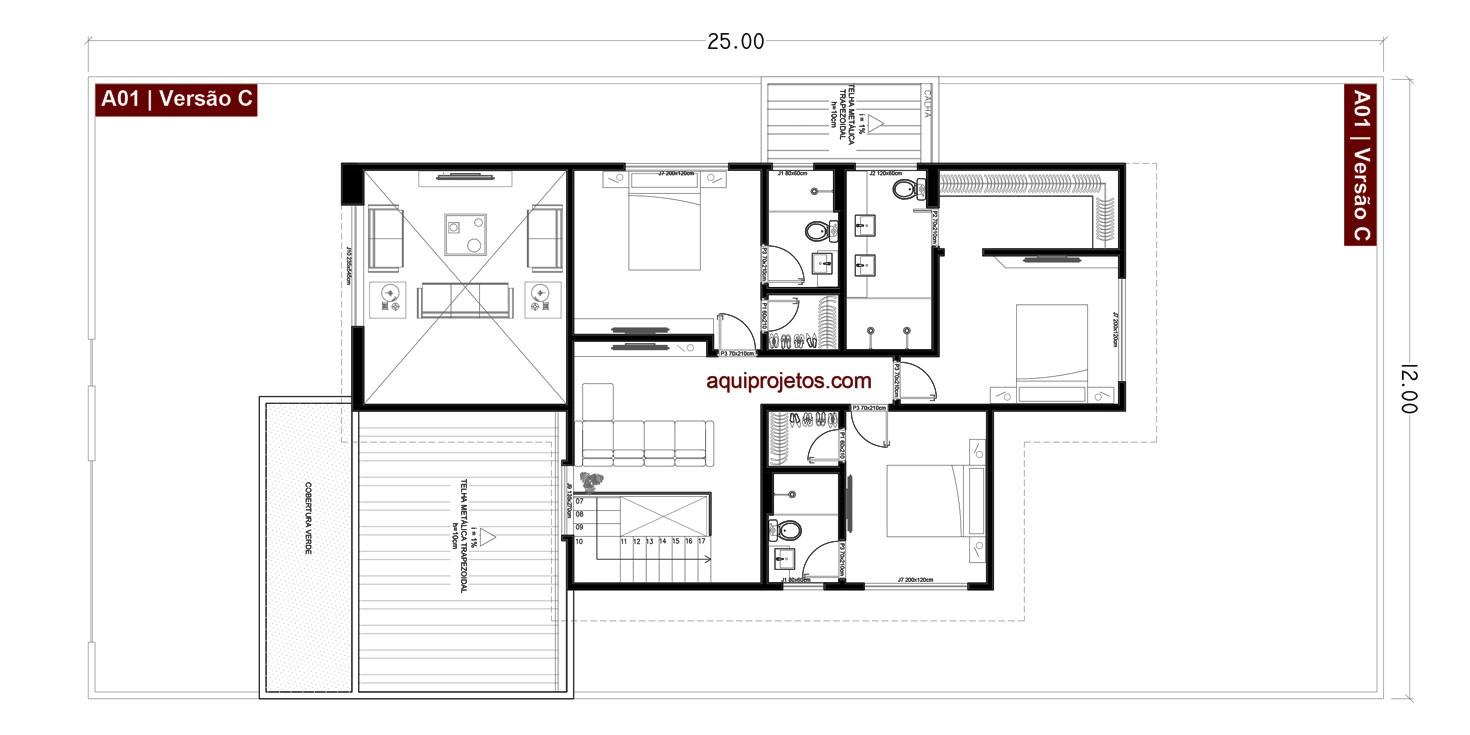 projetos de casas 06