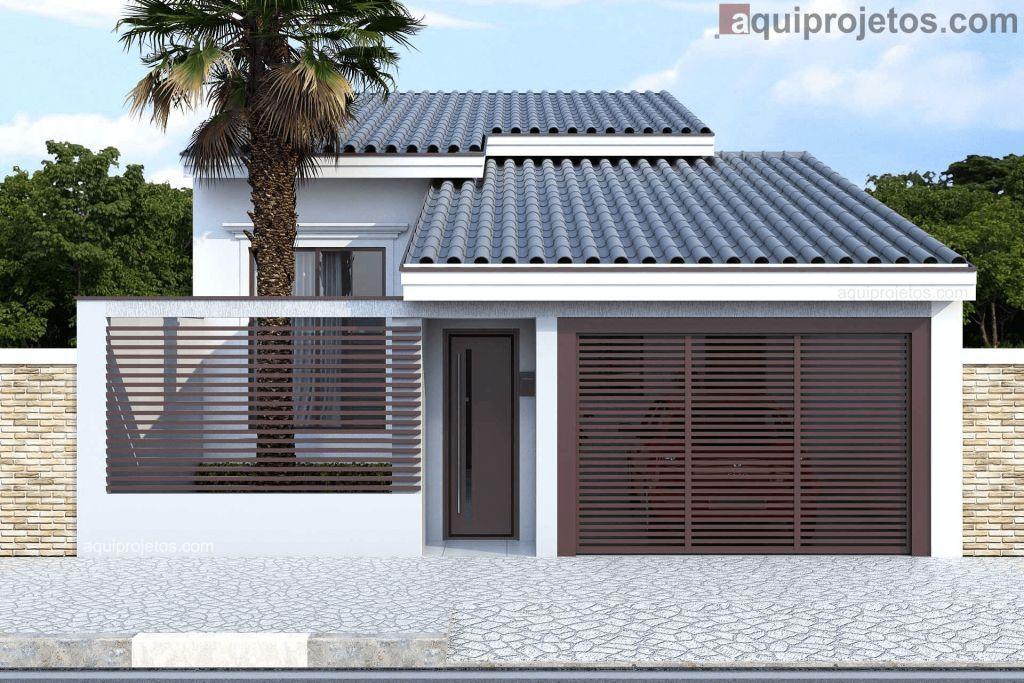 Fachada de casa - Aquiprojetos